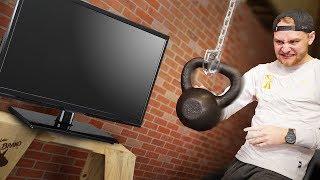 Wrecking Ball VS. TV!