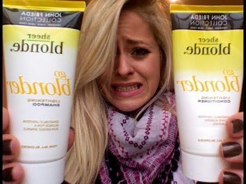 Product Rant: John Frieda Go Blonder   Fleur De Force