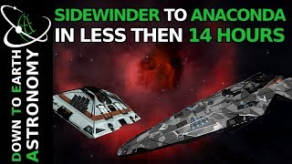 From Sidewinder to Anaconda in less than 14 hours | Elite dangerous