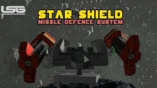 Space Engineers - Star Shield Missile Defense System Gravity Weapons