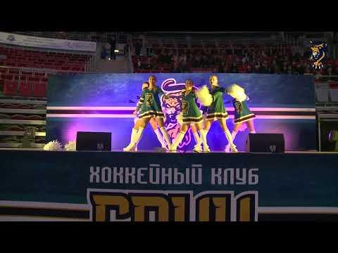 """Танец """"Sochi Queens"""" на матче ХК Сочи - Локомотив"""