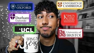 ...spilling the tea on every TOP UK University!