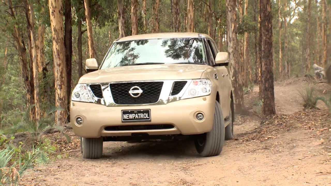 Nissan Patrol Y62 2013 Track Test Youtube