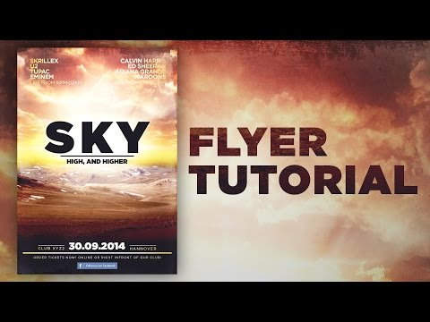 Photoshop Tutorial - Flyer (Party, Event, Club)