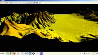 Global Mapper Volcan Copiapo SRTM