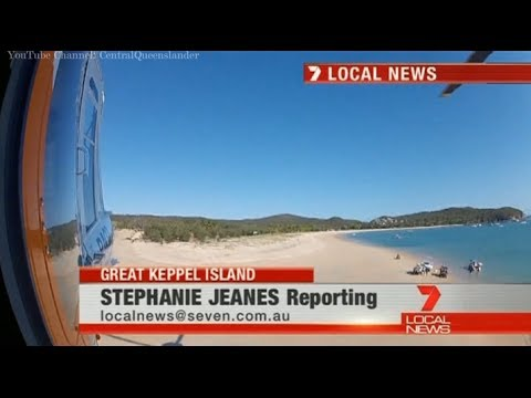 Spearfishing Accident On Great Keppel Island - Seven Local News Rockhampton (2014)