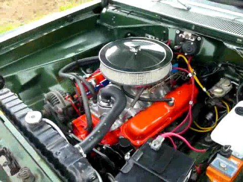 1972 Plymouth Duster 318 Engine Youtube