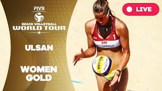 Ulsan 1-Star  - 2018 FIVB Beach Volleyball World Tour - Women Gold Medal Match