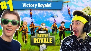 RED HOUSE PLAYS FORTNITE BATTLE ROYALE #2!!! (Highlights, Funny Moments & Fails!)