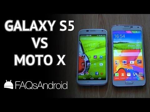 Samsung Galaxy S5 vs Motorola Moto X: comparativa en español
