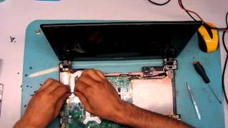 Разборка и чистка( Disassembly and Cleaning ) ACER TM 4820GT