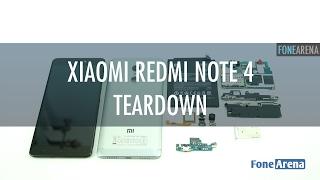 Xiaomi Redmi Note 4 nasıl sökülür?
