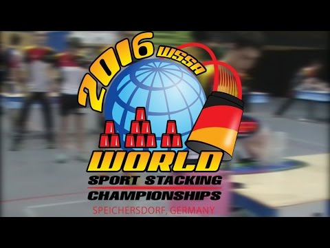 Sport Stacking: My World  Sport Stacking Championships 2016 Experience!