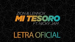 Video Mi Tesoro Zion y Lennox
