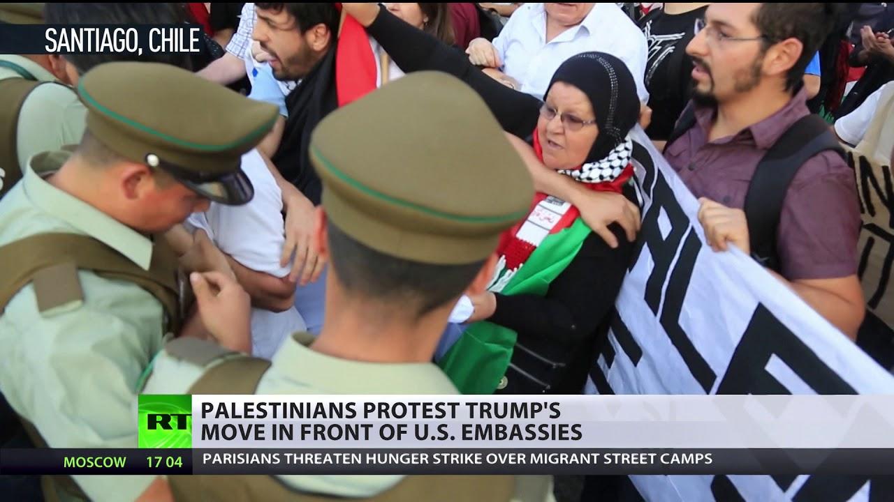'Trump was wrong on Jerusalem' – Israeli who witnessed Hamas rocket fire