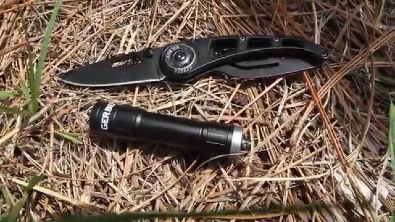 Knife Flashlight Combo And Tempo Flashlight Combo
