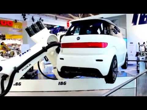 Automated Robots for Car Factory in Europe