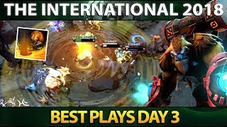 Best Plays Group Stage Day 3 - The International 2018 - Dota 2 #TI8