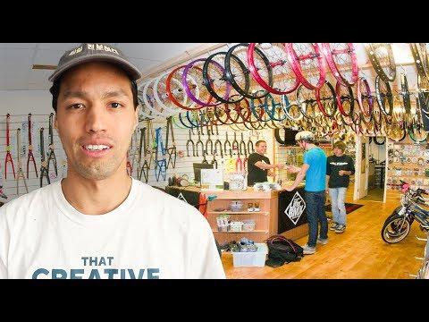 Buying a BMX Shop?!   JohNYC 07
