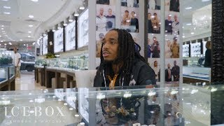 Quavo Brings Cloth Talk to ICEBOX!!!