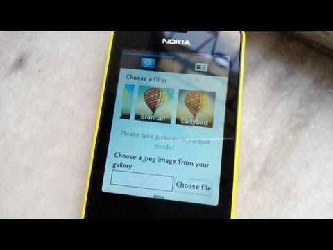 Instagram App (Uploader) for Nokia Asha 501