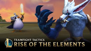 Teamfight Tactics: Rise of the Elements | TFT Set 2 Gameplay Trailer - League of Legends