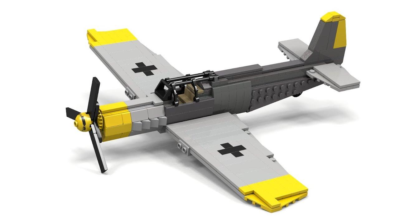 Lego Wwii Bf 109 Instructions Youtube