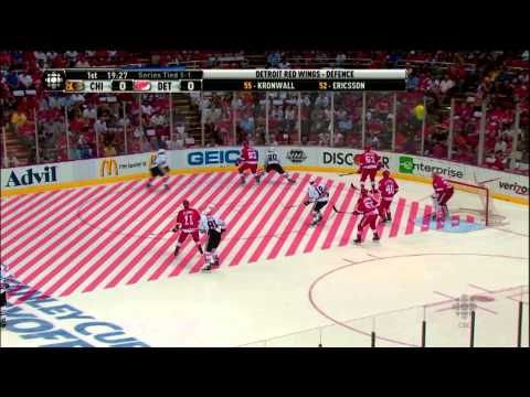 Hockey IQ - Glenn Healy breaks down how the Detroit Redwings all play like Pavel Datsyuk