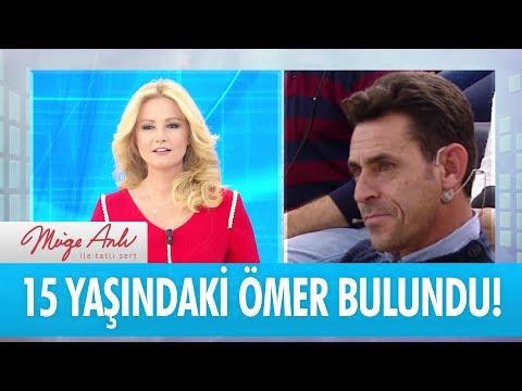 19 kasım'da kaybolan Ömer, Konya'da bulundu - Müge Anlı İle Tatlı Sert 5 Aralık 2017