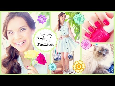 Spring Makeup, Hair + Outfit Inspiration!