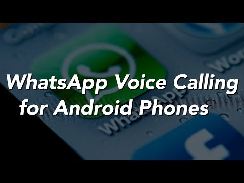 WhatsApp Voice Calling is Here!