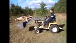 Cub Cadet 149 Homemade Loader