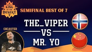 🗡️ Age of Empires 2 TheViper vs YO King of the Desert 2 Semifinal WEBCAMS LIVE!!! - Daut Cocaster