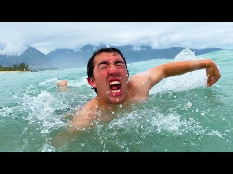 Download Swimming Across The Entire Pacific Ocean - Challenge Mp4 baru
