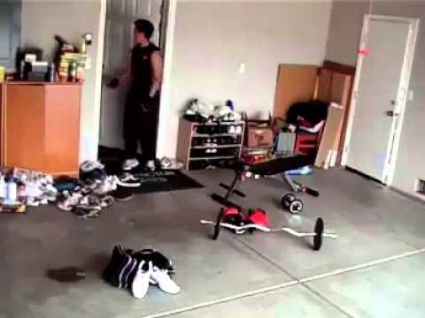 LMAO! Super Workout Prank..