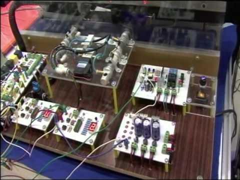 ชุดทดลองการคัดแยกวัตถุควบคุมด้วย PLC