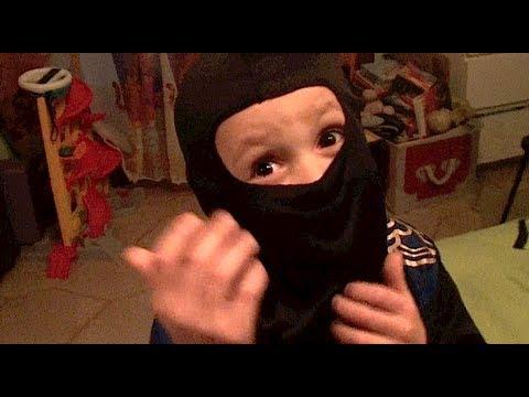 Assalto Bambini Ninja BAMBINI DIVERTENTI VLOG