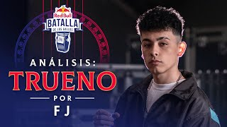 FJ analiza a TRUENO | Red Bull Internacional 2019