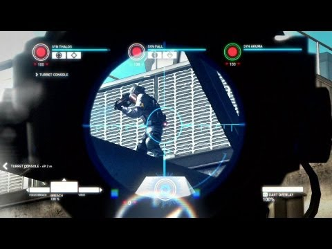 Syndicate 2012 - gameplay modo co-op