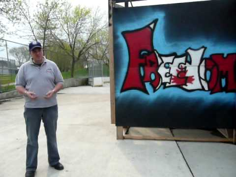 Graffiti community building fairchild tv cst scott mills part 3