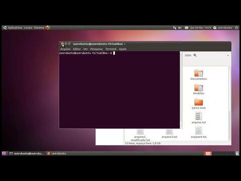 Usando o terminal no Ubuntu - alguns comandos básicos