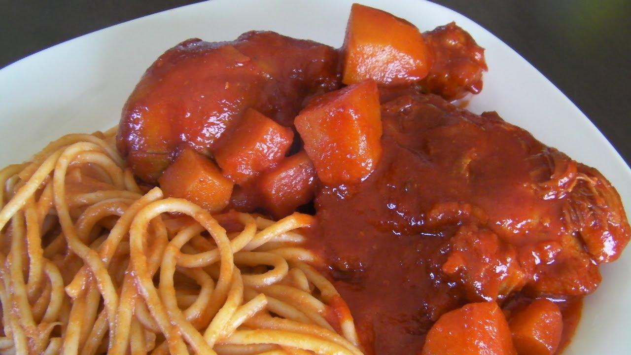 Pollo a la Mantequilla con Chile Guajillo * video 110 * - YouTube
