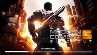 Modern combat 5 con sixaxis