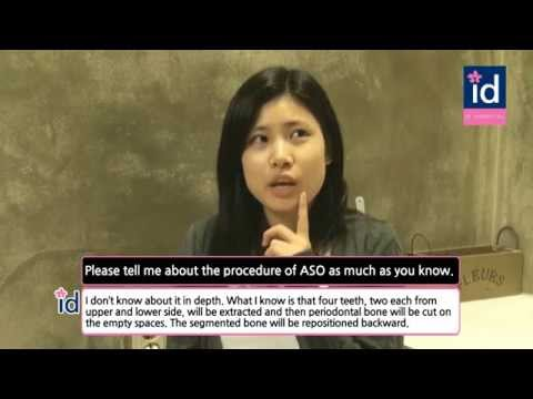 [ID Hospital, Korea] Interview before double jaw surgery at ID Hospital (Minji Yoo ep.01)