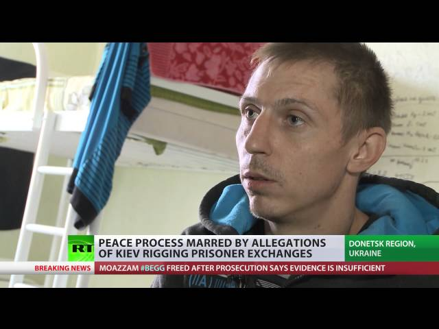 Ukraine prisoner swaps in danger as rebels accuse Kiev of foul play