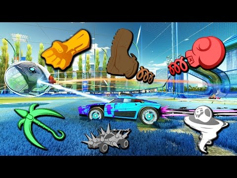 MODDED 1 SECOND RUMBLE = THE BEST GAME MODE EVER!   ROCKET LEAGUE
