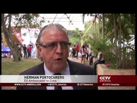 EU officials look for trade links at Havana International Trade Fair