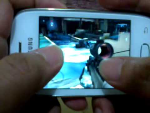 modern combat 3 on SAMSUNG galaxy pocket neo
