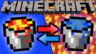 If Lava and Water Switched Places - Minecraft
