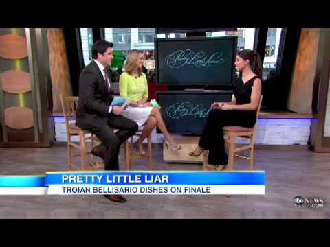 Troian Bellisario - Good Morning America Interview (2013.03.18)